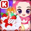 셰프쥬디: 생일 케이크 만들기-어린여자 아이 요리 게임
