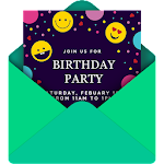 Invitation Card Maker Free by Greetings Island icon