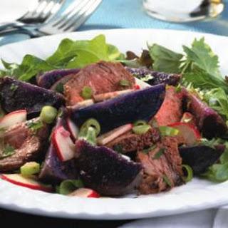 Steak & Purple-Potato Salad