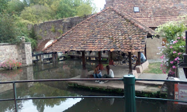 Photo: So auch diese alte Mühle in Wissenbourg.