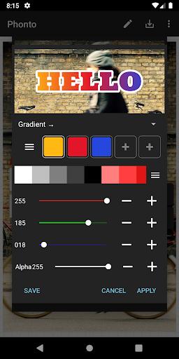 Phonto - Text on Photos 1.7.67 screenshots 7