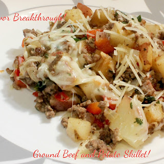 Ground Beef and Potato Skillet!.