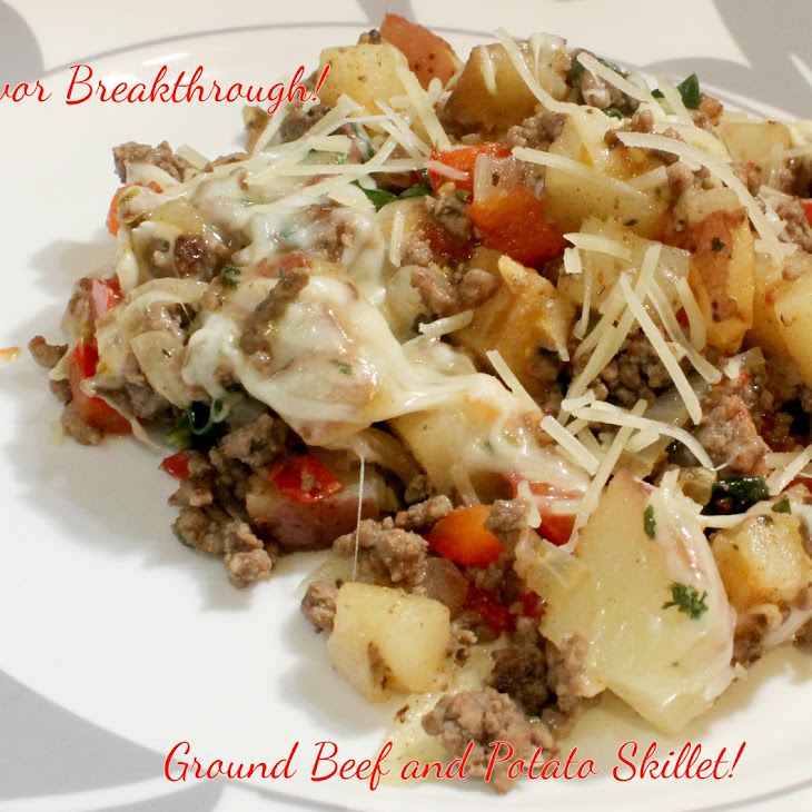 Ground Beef and Potato Skillet!