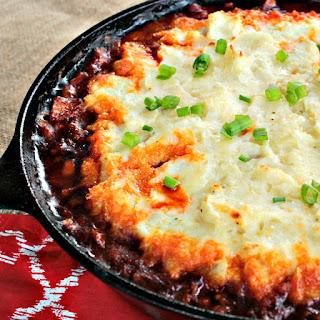 Chorizo Shepherd's Pie.