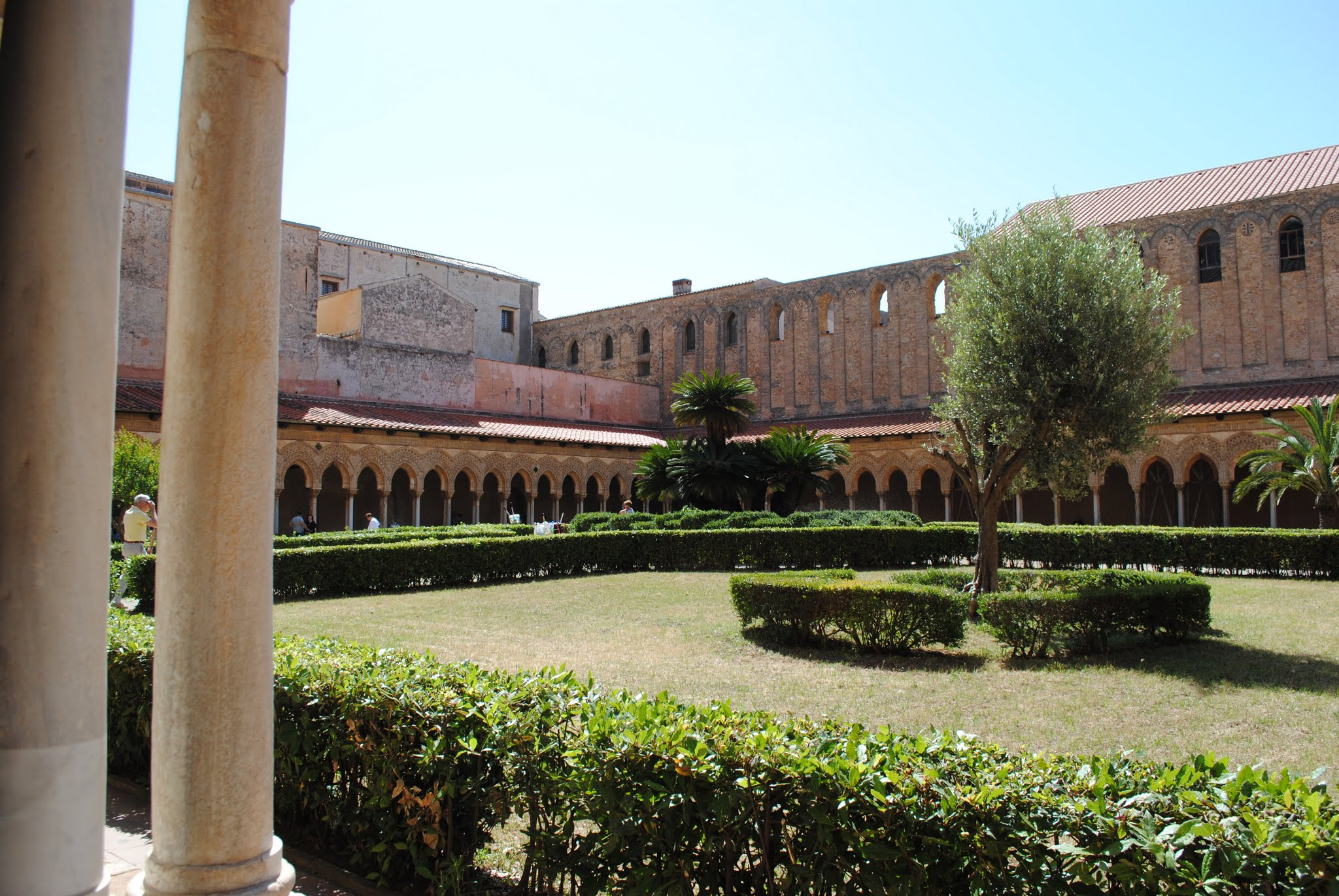 My Photos: Italy -- Sicily -- Palermo -- Monreale -- The Cloister