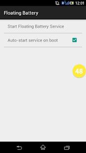 Floating Battery - screenshot thumbnail