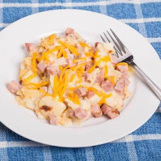 Ham And Potato Casserole With Cream Of Mushroom Soup Recipes.