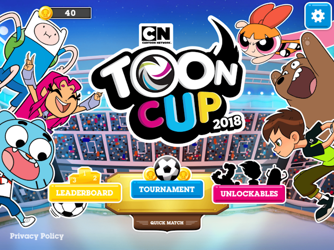 Toon Cup 2018 - Cartoon Network's Football Game Android App Screenshot