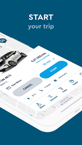 SHARE NOW - formerly car2go and DriveNow screenshots 3