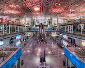 Photo: The airport in Beijing is really beautiful... I do really like walking around asian airports... and none of them seem to mind if you are using a tripod!  Even better: No TSA. (P.S. did you know TSA is an acronym for Tub Stacking Authorities?)