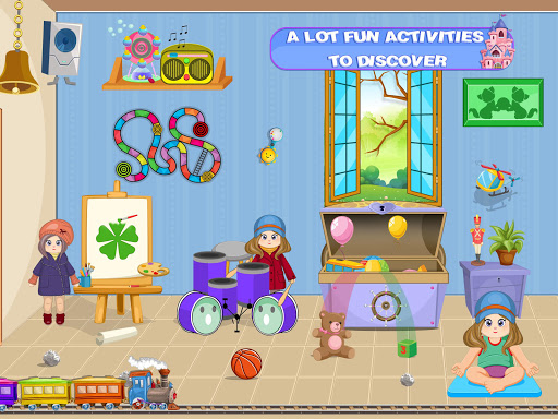 Pretend Play Doll House: Town Family Mansion Fun android2mod screenshots 5