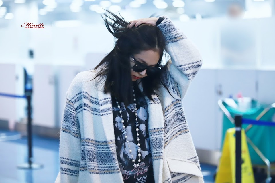 blackpink jennie airport fashion 2019 4