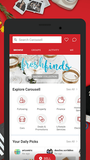 Carousell: Snap-Sell, Chat-Buy 2.103.303.245 screenshots 1