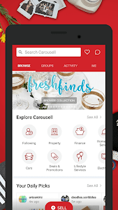 Carousell: Snap-Sell, Chat-Buy 2.108.332.261 (1792) (Arm64-v8a + Armeabi + Armeabi-v7a + mips + mips64 + x86 + x86_64)