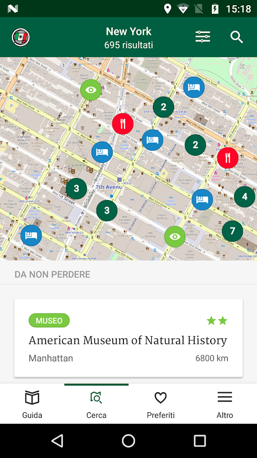 New York Guida Verde Touring- screenshot