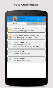Baby Connect (activity logger)- screenshot thumbnail