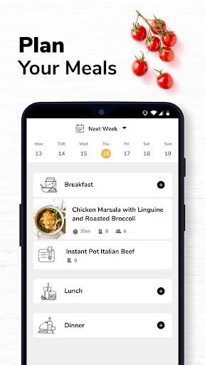 SideChef: 18K Recipes, Meal Planner, Grocery List 4.7.3 Screenshots 7