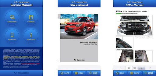 Ssangyong actyon sports service manual