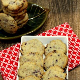 Cranberry Walnut Cookies – Egg less Orange Scented Cranberry Walnut Cookies