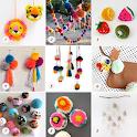DIY Pom Pom Crafts Tutorial icon