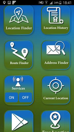 Location Finder Tracker