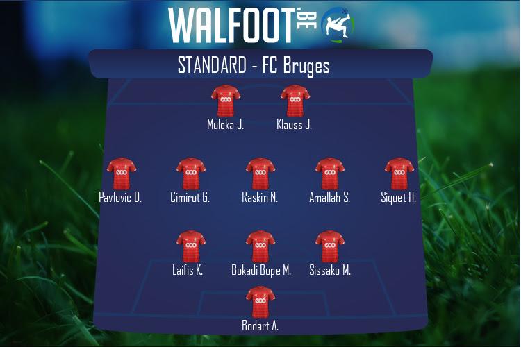 Standard (Standard - FC Bruges)