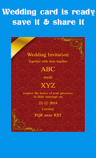 Wedding card maker android apps on google play wedding card maker screenshot thumbnail stopboris Gallery