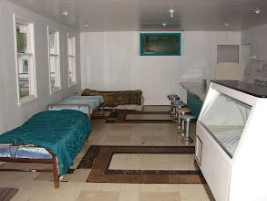 Photo: The bunkhouse in Namu.