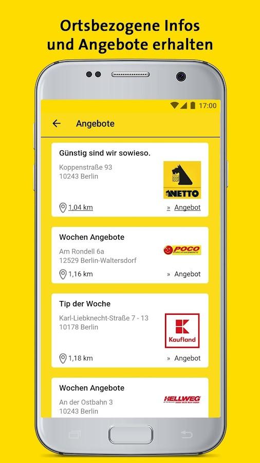 gelbe seiten auskunft und mobiles branchenbuch android apps on google play. Black Bedroom Furniture Sets. Home Design Ideas