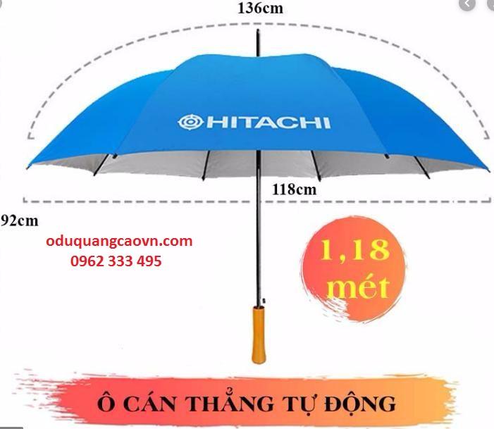 Kích thước của 1 mẫu dù cầm tay