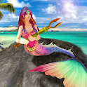 Mermaid Simulator 3D - Sea Animal Attack Games icon