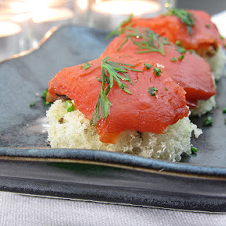Smoked Salmon Canapes- Old Family Secret to Easy Appetizers! Recipe