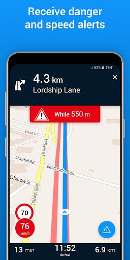 ViaMichelin Route planner,maps screenshot 7