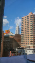 Photo: The view from our room at the Marcel on 24th and 3rd