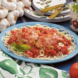 Mediterranean-Style Chicken.