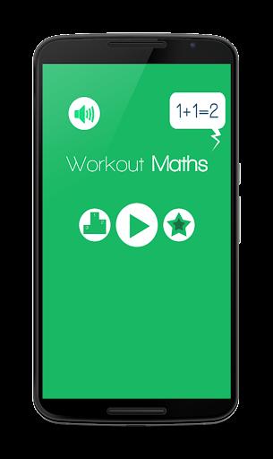 Math workout Fun fast tests