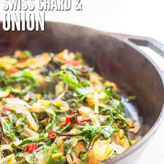 Caramelized Onions Swiss Chard Recipe