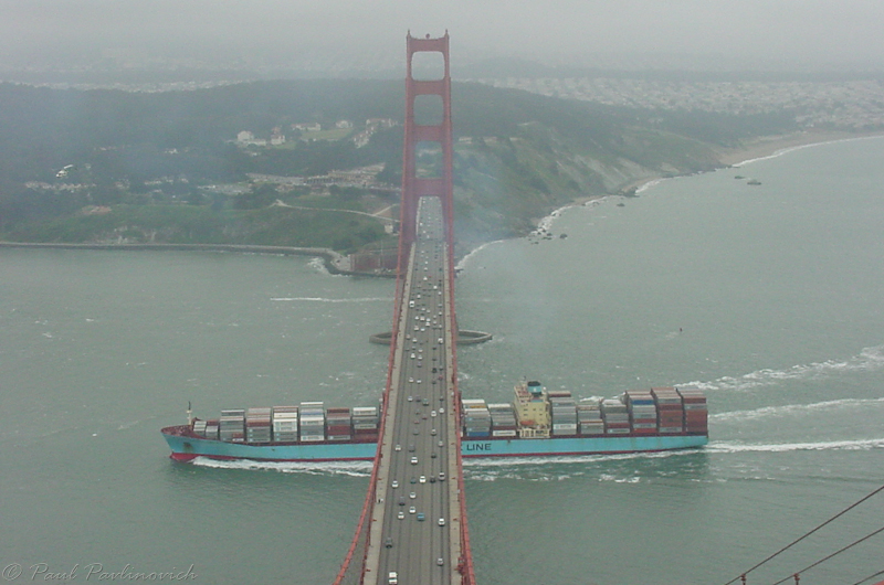 Photo: This gives you an idea of the size of the bridge