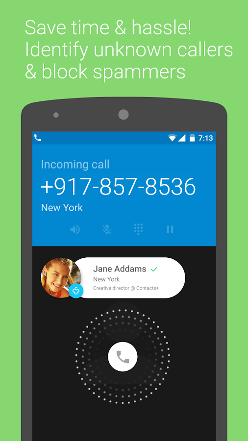 Caller ID +- screenshot