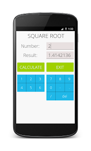 Square Root Calculator- screenshot thumbnail