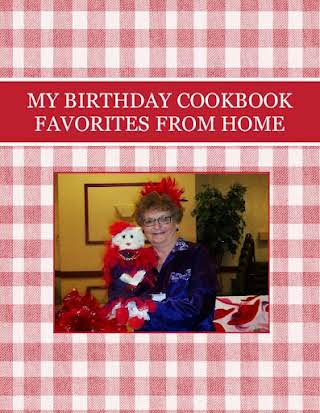 MY BIRTHDAY COOKBOOK FAVORITES FROM HOME