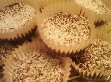 Rich Double Chocolate Brownie Cupcakes