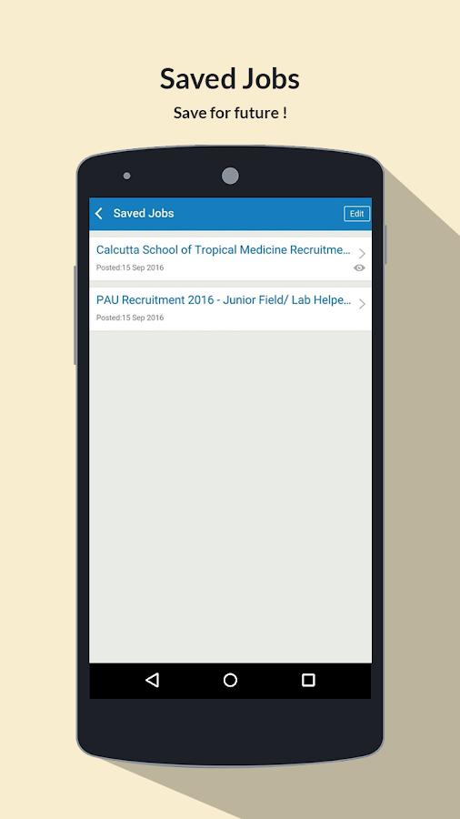 Sarkari Naukri Search Job Alert