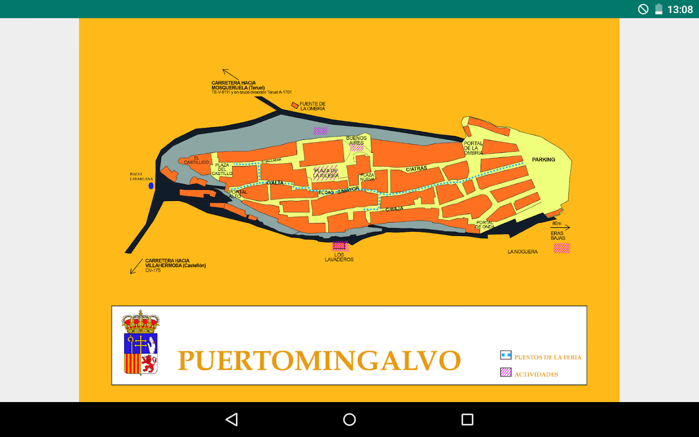 Puertomingalvo- screenshot