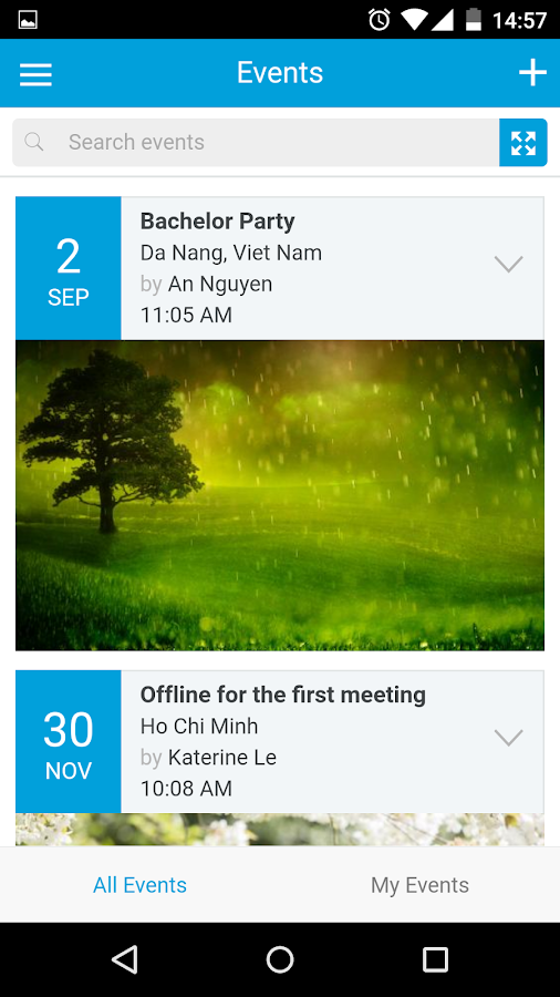 PHPfox 4 Mobile Application- screenshot