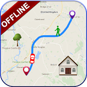 GPS Offline Navigation Route Maps & Direction