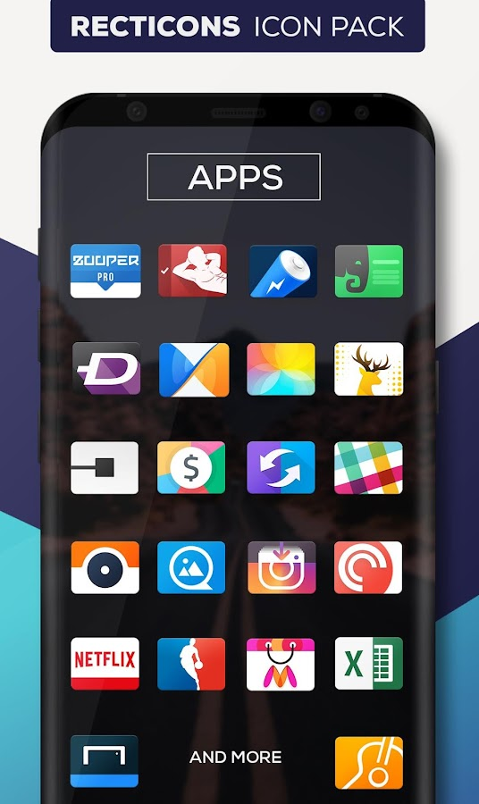Recticons - Icon Pack- screenshot
