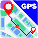 GPS Map: Free Navigation, Route Finder, Directions icon