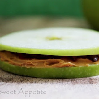 Apple Peanut Butter And Jelly