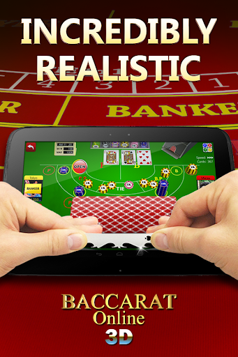 Baccarat Online 3D Free Casino 3.5.0 screenshots 1